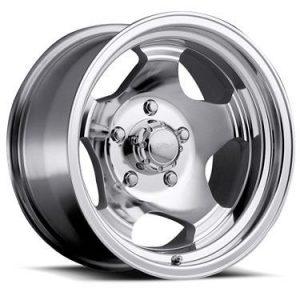 Álfelga Ultra Wheel 15x7 - 5x5,5 - 5 arma póleruð og glæruð